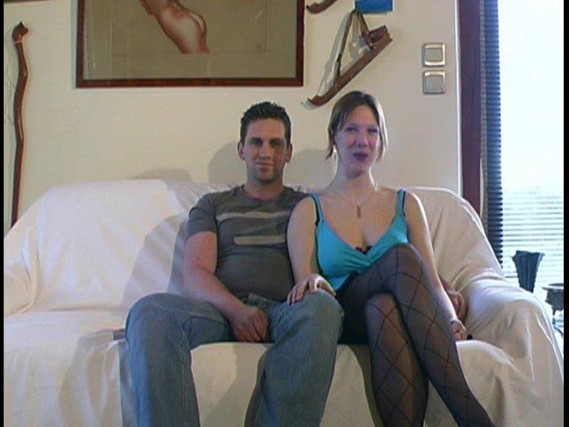 couple mariée baise en trio devant ma caméra